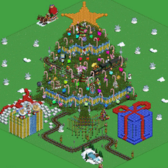 FarmVille Pic of the Day: Color-changing sheep light up Tielovou's tree