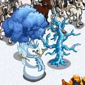 FarmVille Winter Fantasy Items: Bare Crystal Tree, Snow Queen Palace and more