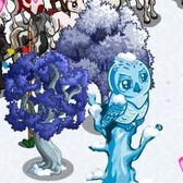FarmVille Winter Fantasy Items: Snowflake Chicken, Snowy Tree and more