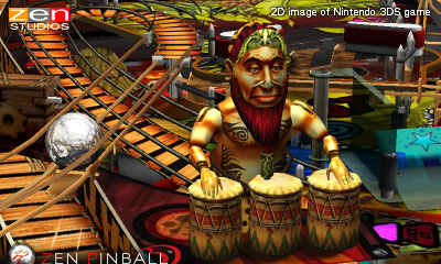 Zen Pinball 3D Shaman