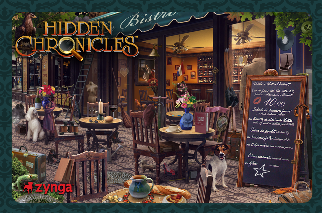 Hidden Chronicles Italian Bistro
