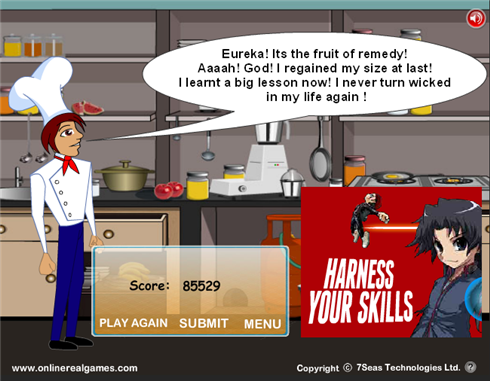 Krazy Chef completed