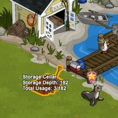FarmVille: Lighthouse Cove Storage Licenses aren't cheap