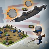 Empires & Allies Civil War Re-Enactment: Lead the North or South to victory