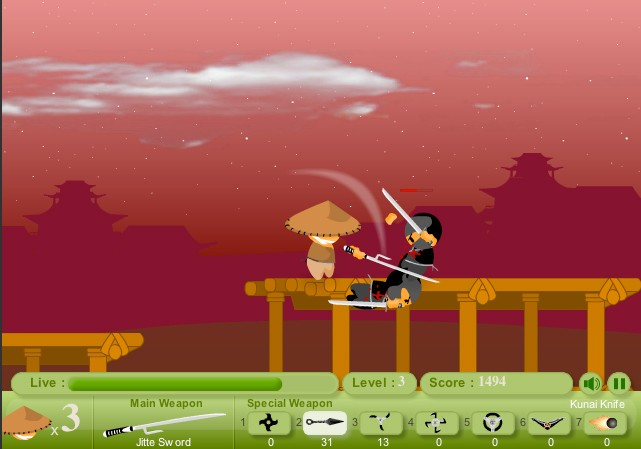 ninja quest online game of the day