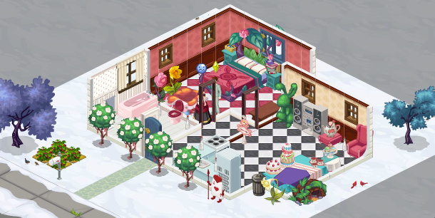 The Sims Social Bella's House