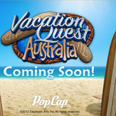 PopCap's new hidden-object game takes a Vacation Quest down under