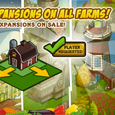 FarmVille fans, you've been heard: New coin expansions for all farms