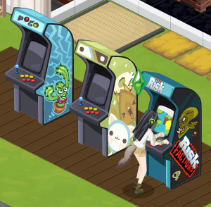 Sims Social Risk: Factions arcade