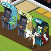 The Sims Social plugs Risk: Factions with a free arcade machine