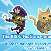 Risk: Factions inva