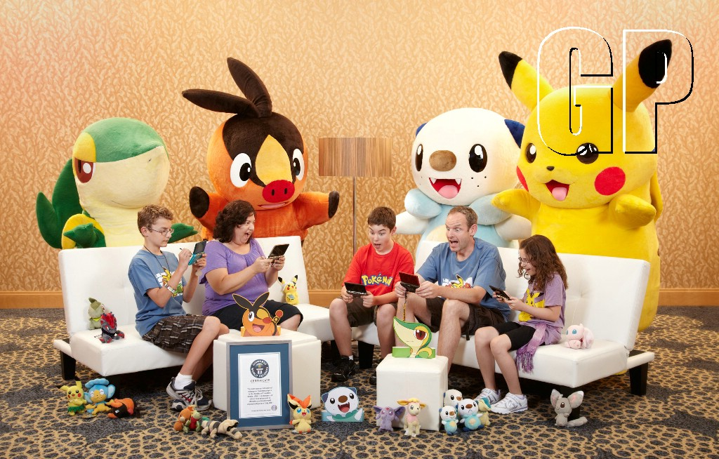 The Arnolds Pokémon family