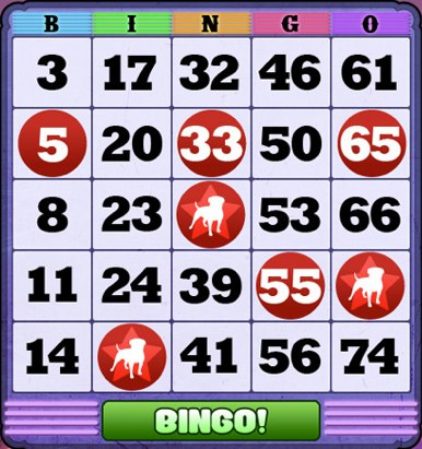 bingo games for free on facebook