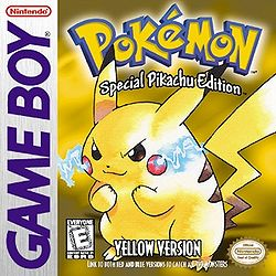 Pok&eacute;mon Yellow Version