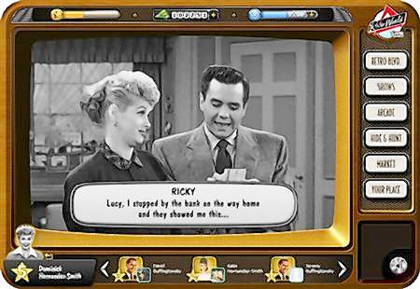 I Love Lucy in Retro World