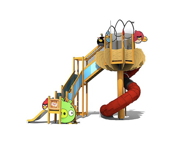 Angry Birds slide