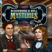 Blackwood & Bell Mysteries on Facebook puts a magnifier on story