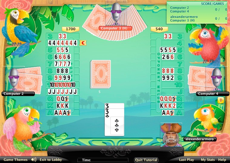play canasta against computer free