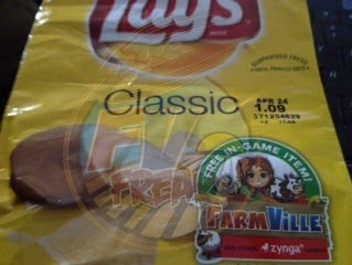 FarmVille Lays Classic chips