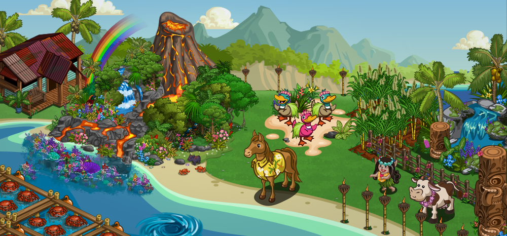 FarmVille Hawaiian Farm
