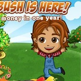 FarmVille Money Bush: Earn 208 Farm Cash in a year