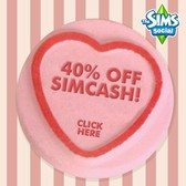 The Sims Social: Pick up SimCash for 40% off this Valentine's Day