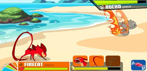 MinoMonsters on iPhone