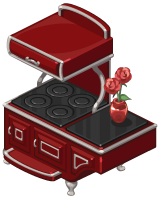 The Sims Social Amour Edition Stove