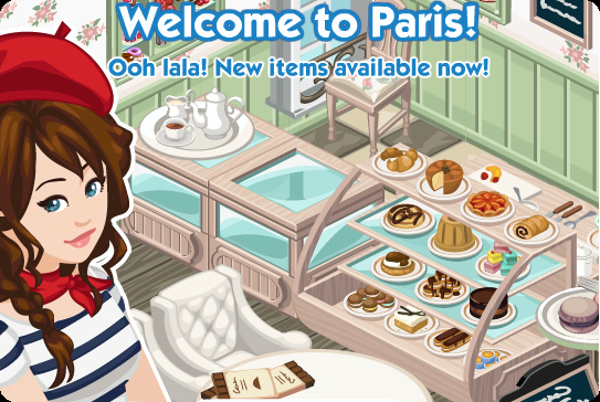 The Sims Social Paris Week