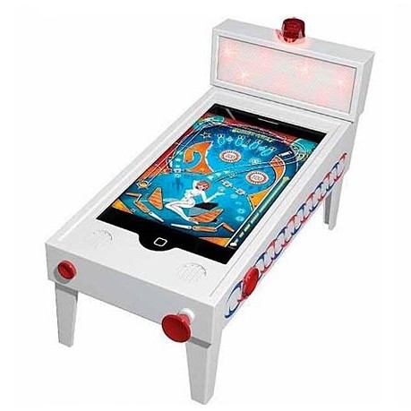 iPhone pinball machine
