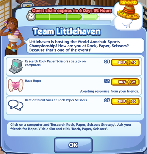 The Sims Social Team Littlehaven Part 4