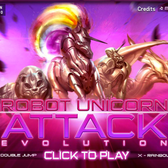 Robot Unicorn Attack Evolution gets better, stronger, faster on Facebook