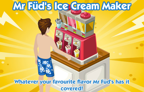 The Sims Social Ice Cream Maker