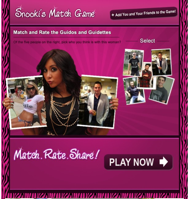 Snooki's Match Game