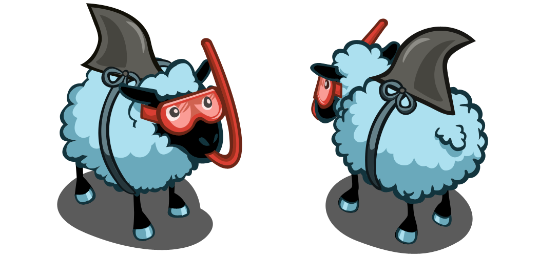 FarmVille Sharky Sheep