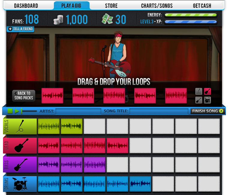 how to add consecutive tracks in garage band