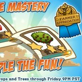 Plow your way to success with triple mastery in FarmVille
