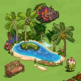 FarmVille Hawaiian Paradise Items: Cecropia Tree, Pink Dolphin and more