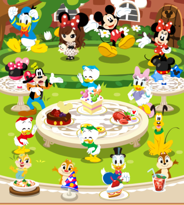 Disney Party Mobage