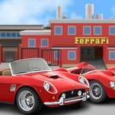 You can drive a Ferrari in your dreams, or drive a Ferrari in Car Town