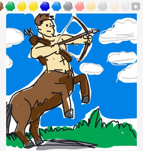 Draw Something Centaur