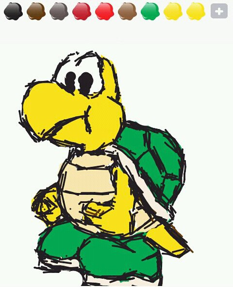 Draw Something Koopa