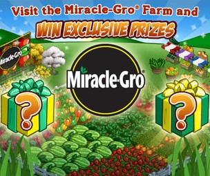 FarmVille Miracle-Gro