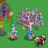 FarmVille Candy Items: Rock Candy Tree, Candy Pony and more