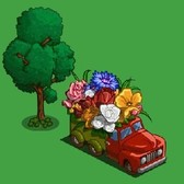 FarmVille: Send and earn free Flower Trucks with friends