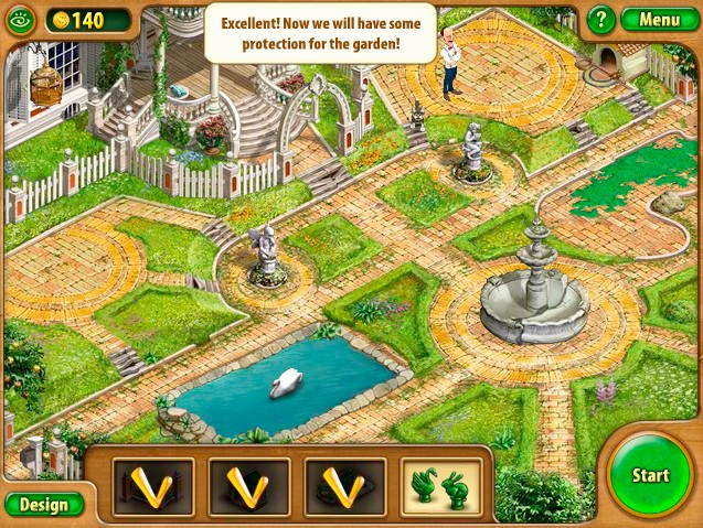 gardenscapes game of the day