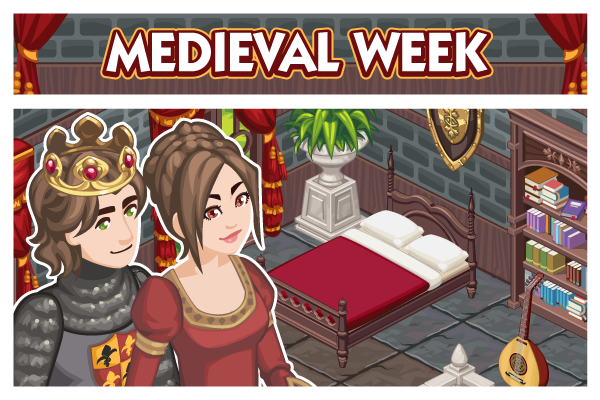 The Sims Social Medieval Week