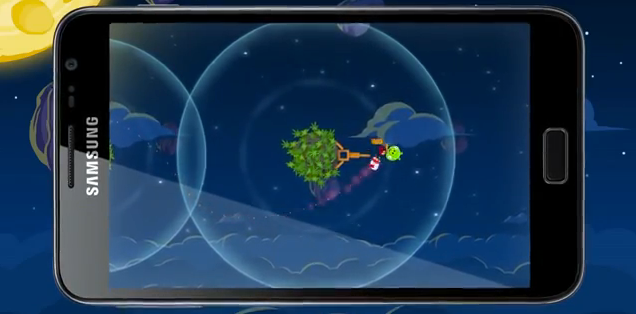 Angry Birds Space Samsung Galaxy Note
