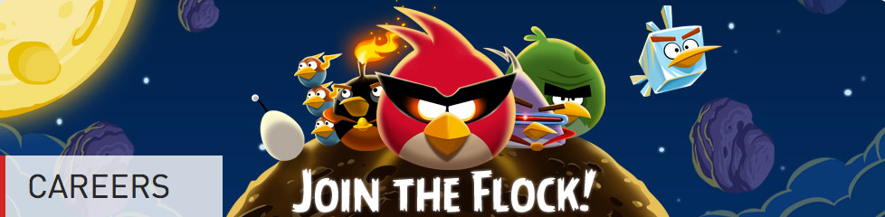 Rovio Careers page
