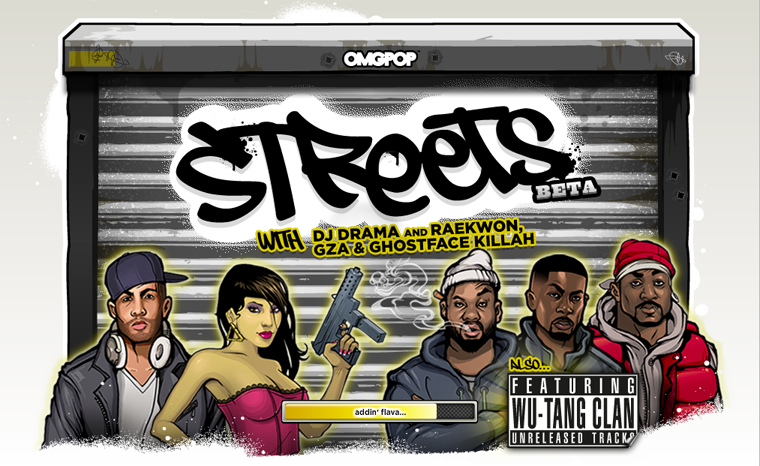 The Street Ghostface Killah Facebook game